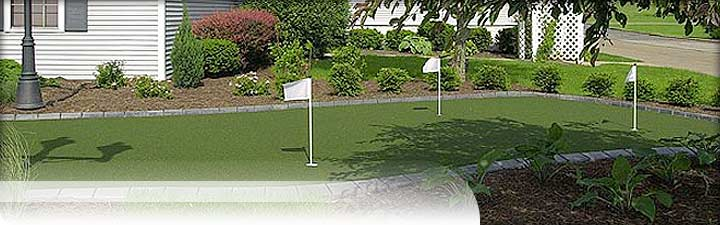 Putters Edge Custom Putting Greens: Commercial Golf Turf Installations