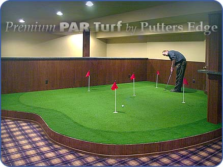 Indoor Putting Greens: Home: Business: Putters Edge Putting Green ...
