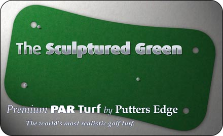 The Sculpted Green by Putters Edge™ putting greens