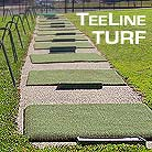 Golf mats, driving mats, tee-line and tee line turf mats