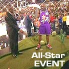 NBA Celebrity All-Star Game 2009 features Putters Edge PAR turf putting green